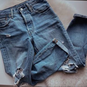 Levi's Jeans - SOLD OUT WASH ❣️Old Hangouts Levi's 501 Skinny 27